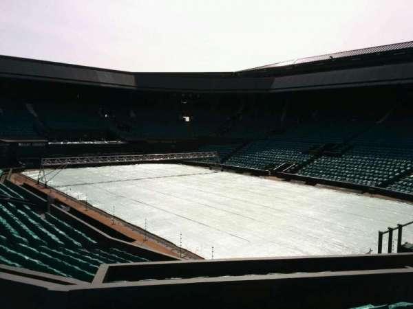 Wimbledon, Centre Court, section: 209, row: f