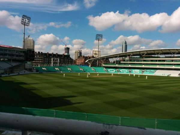 Kia Oval, section: middle pavilion, row: a, seat: 61
