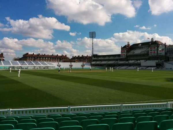Kia Oval, section: 6, row: 9, seat: 169