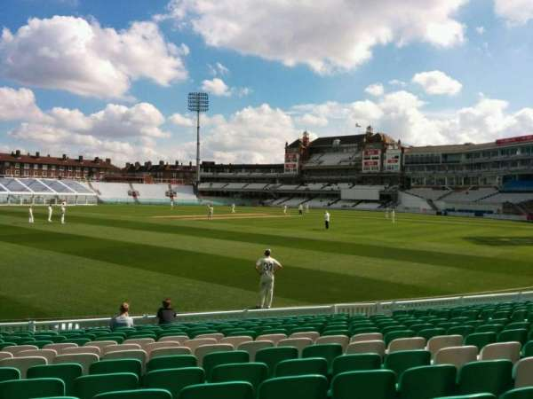 Kia Oval, section: 7, row: 15, seat: 199