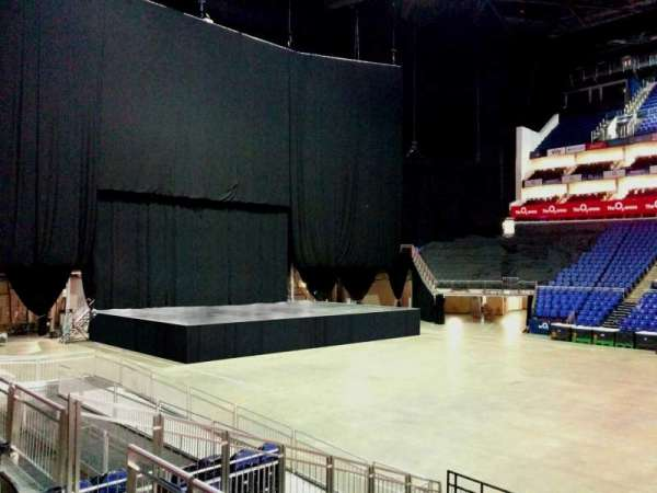 The O2 Arena, section: 102, row: k, seat: 58