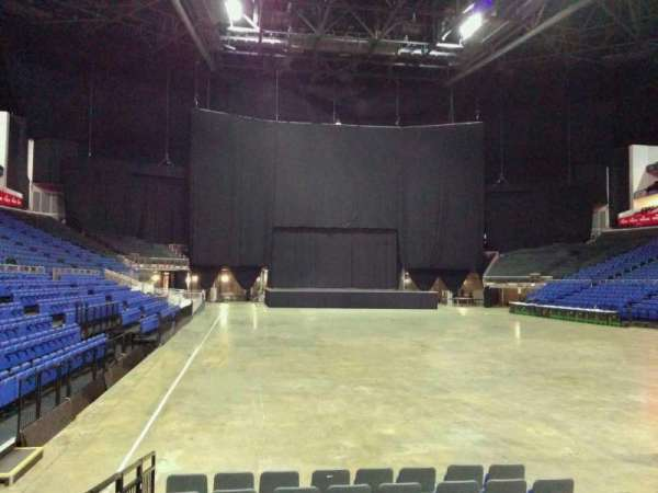 The O2 Arena, section: 105, row: cc, seat: 174