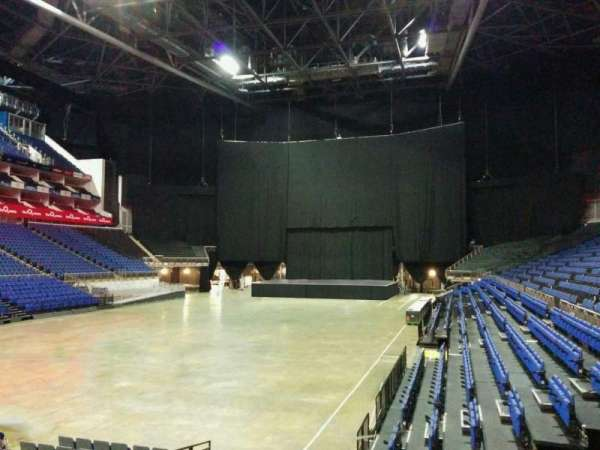 The O2 Arena, section: 108, row: k, seat: 252
