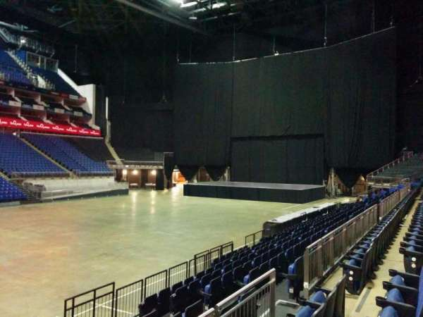 The O2 Arena, section: 110, row: k, seat: 310