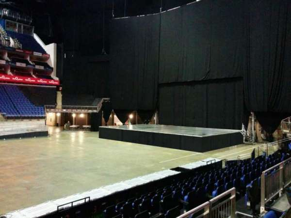 The O2 Arena, section: 111, row: k, seat: 351