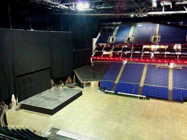 The O2 Arena, section: 403, row: d, seat: 518