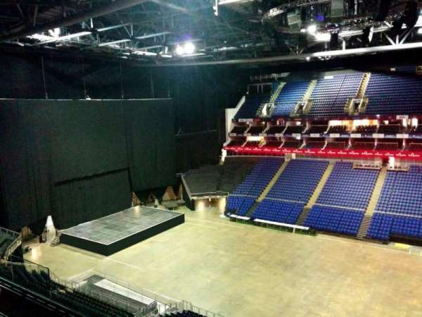 The O2 Arena, section: 404, row: d, seat: 548