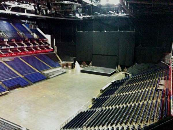 The O2 Arena, section: 415, row: d, seat: 810