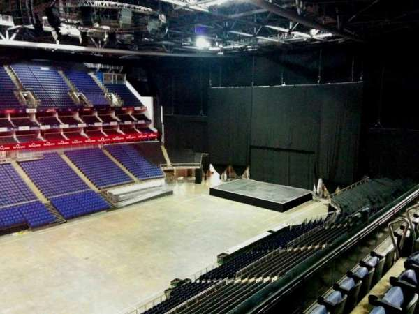 The O2 Arena, section: 417, row: d, seat: 859