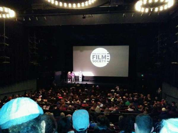 Prince Music Theater, row: u, seat: 8