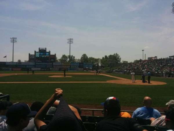 TD Bank Ballpark, section: 110, row: f, seat: 5