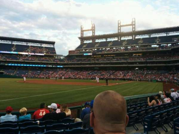 Citizens Bank Park, section: 137, row: 8, seat: 5