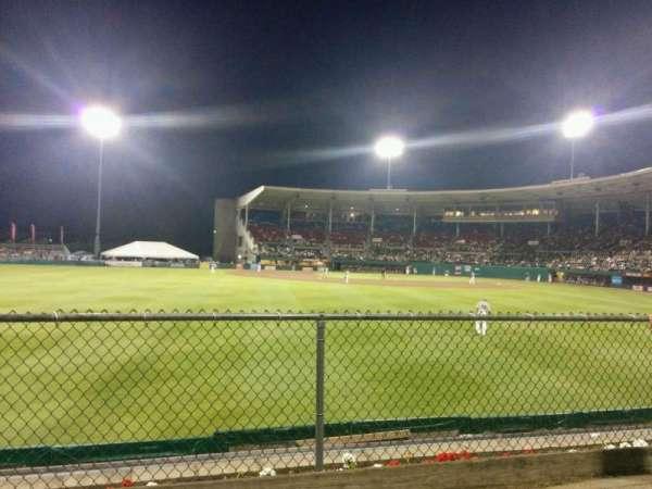 McCoy Stadium, section: lawn