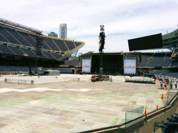 Soldier Field, section: 117, row: 5, seat: 11