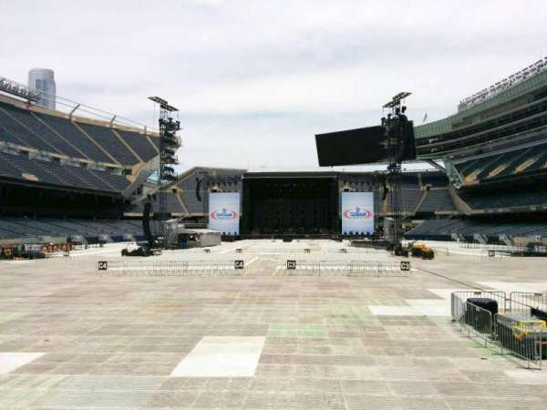 Soldier Field, section: 122, row: 4, seat: 6