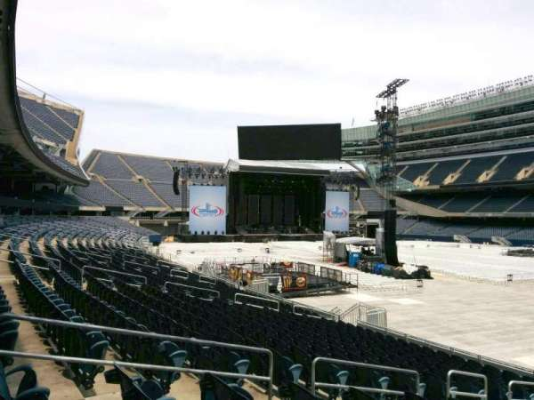 Soldier Field, section: 130, row: 16, seat: 9