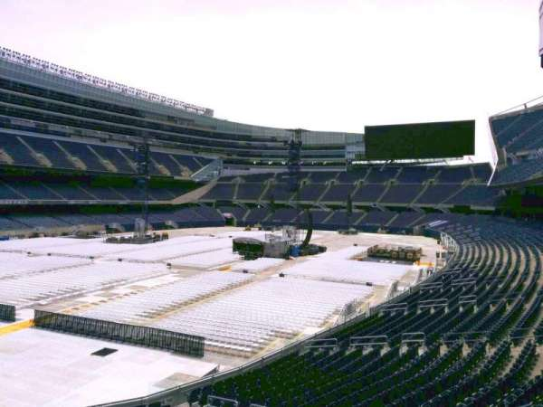 Soldier Field, section: 246, row: 2, seat: 8