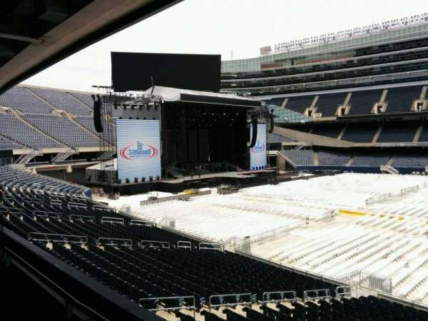 Soldier Field, section: 237, row: 2, seat: 9