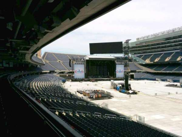 Soldier Field, section: 230, row: 2, seat: 1