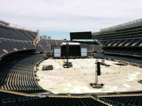 Soldier Field, section: 325, row: 3, seat: 17