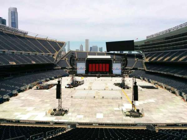 Soldier Field, section: 322, row: 3, seat: 8