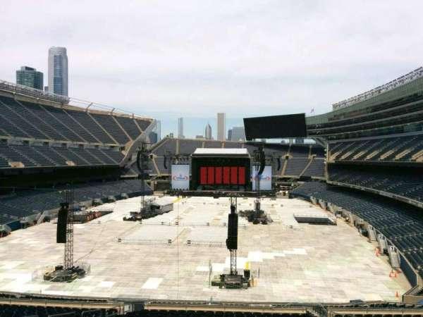 Soldier Field, section: 321, row: 3, seat: 12