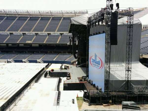 Soldier Field, section: 203, row: 7, seat: 1