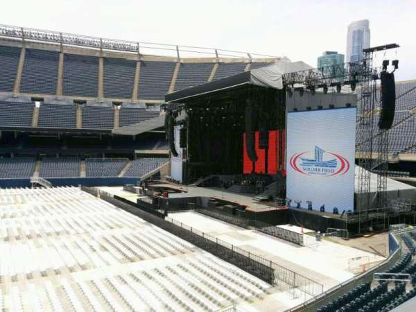 Soldier Field, section: 206, row: 2, seat: 9