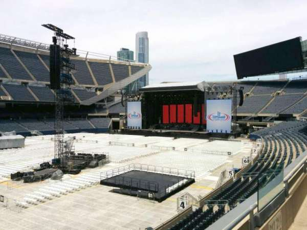 Soldier Field, section: 212, row: 2, seat: 11