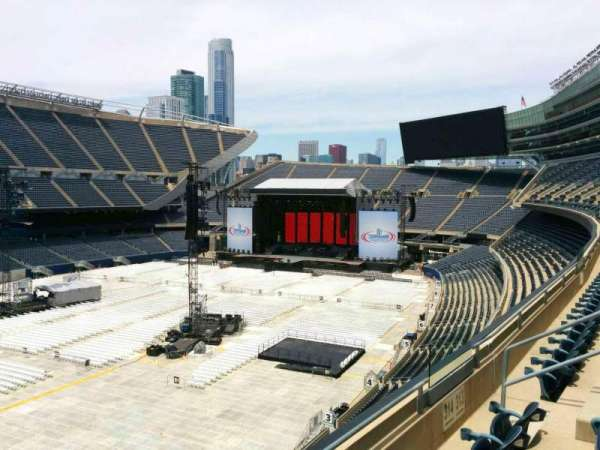 Soldier Field, section: 314, row: 3, seat: 8