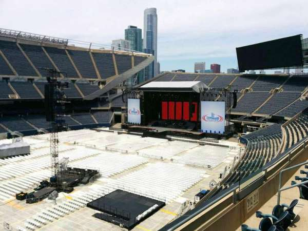 Soldier Field, section: 312, row: 3, seat: 8
