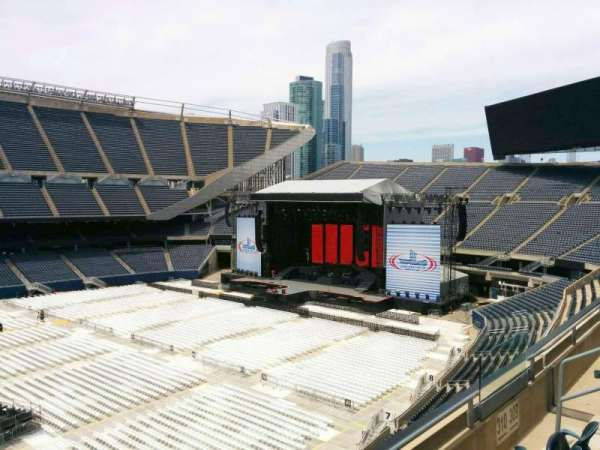 Soldier Field, section: 310, row: 3, seat: 8