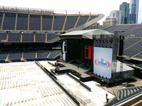 Soldier Field, section: 306, row: 3, seat: 8