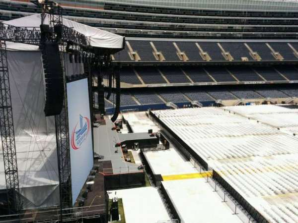 Soldier Field, section: 344, row: 3, seat: 21
