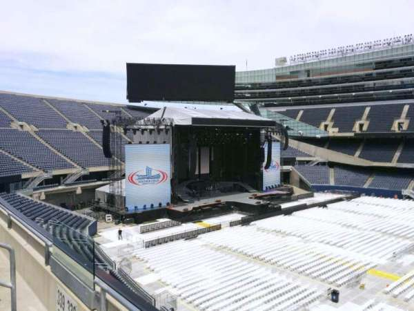 Soldier Field, section: 338, row: 2, seat: 7