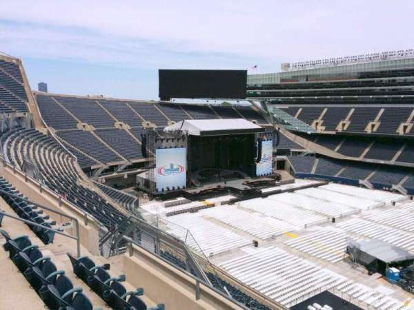 Soldier Field, section: 435, row: 4, seat: 12