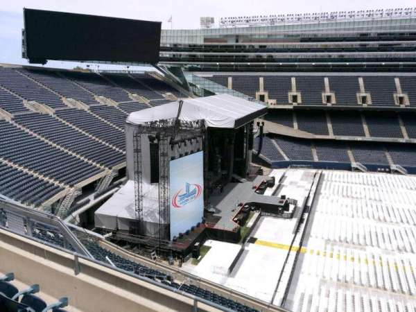 Soldier Field, section: 441, row: 4, seat: 12