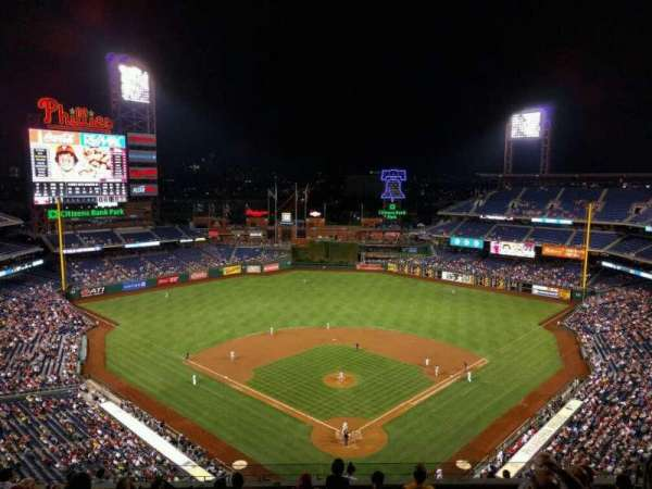 Citizens Bank Park, section: 421, row: 10, seat: 10