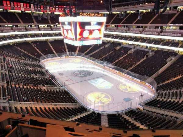 Rogers Place, section: 231, row: 2, seat: 6
