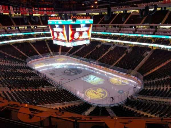 Rogers Place, section: 232, row: 3, seat: 7