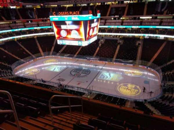 Rogers Place, section: 234, row: 6, seat: 17