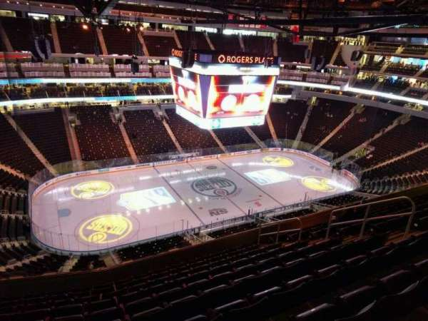 Rogers Place, section: 205, row: 10, seat: 11