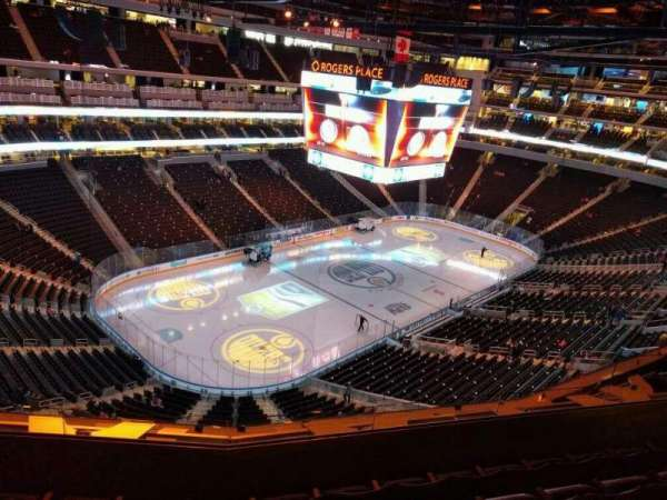 Rogers Place, section: 207, row: 5, seat: 10