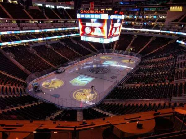 Rogers Place, section: 208, row: 2, seat: 9