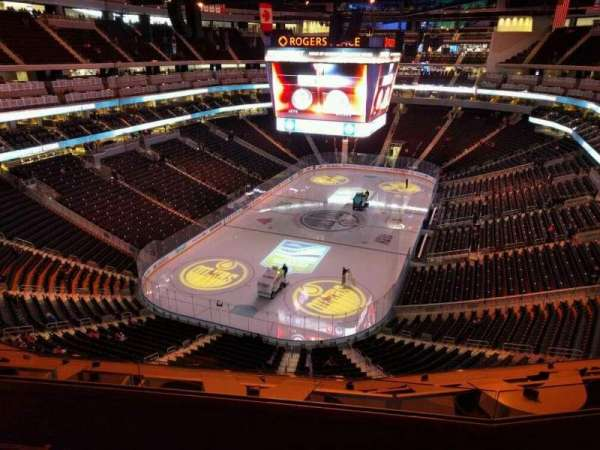 Rogers Place, section: 209, row: 4, seat: 13