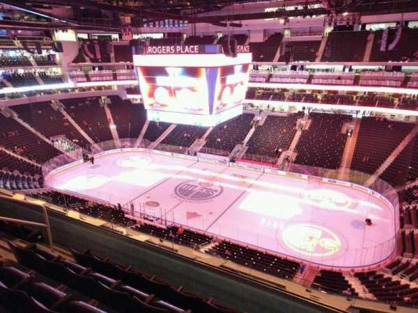 Rogers Place, section: 217, row: 5, seat: 11