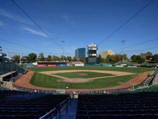 Raley Field, section: 111, row: 25, seat: 17