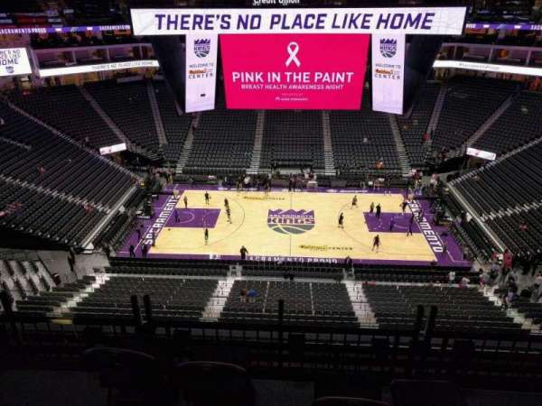 Golden 1 Center, section: 218, row: e, seat: 10