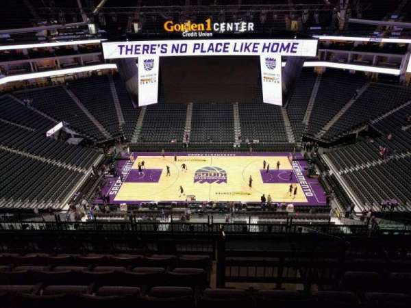 Golden 1 Center, section: 205, row: k, seat: 11