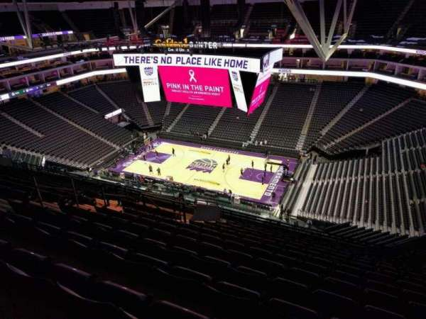 Golden 1 Center, section: 203, row: r, seat: 14